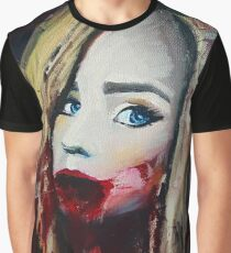 Halloween Self Portrait Graphic T-Shirt