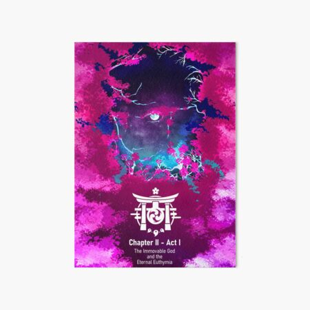 Genshin Chapter I - Act II. The Immovable God and the Eternal Euthymia Art Board Print