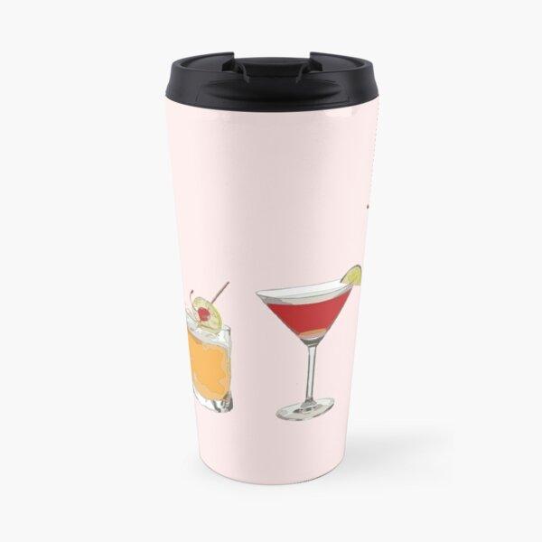 Cocktails Travel Mug