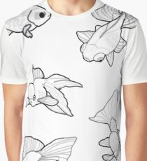 Misc. Fancy Goldfish Graphic T-Shirt