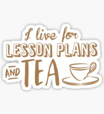 I live for lesson plans and TEA Sticker