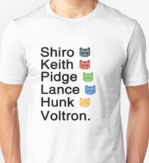 Team Voltron & T-Shirt
