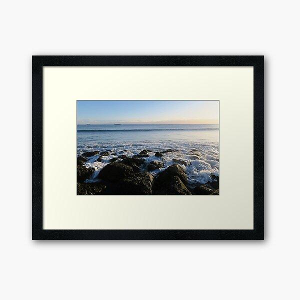 Morning sunshine Framed Art Print