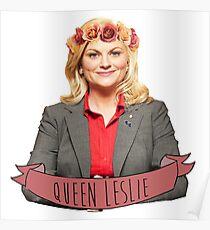 Leslie Knope - Queen Leslie Poster