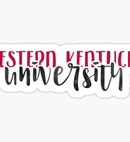 Western Kentucky University - Style 1 Sticker