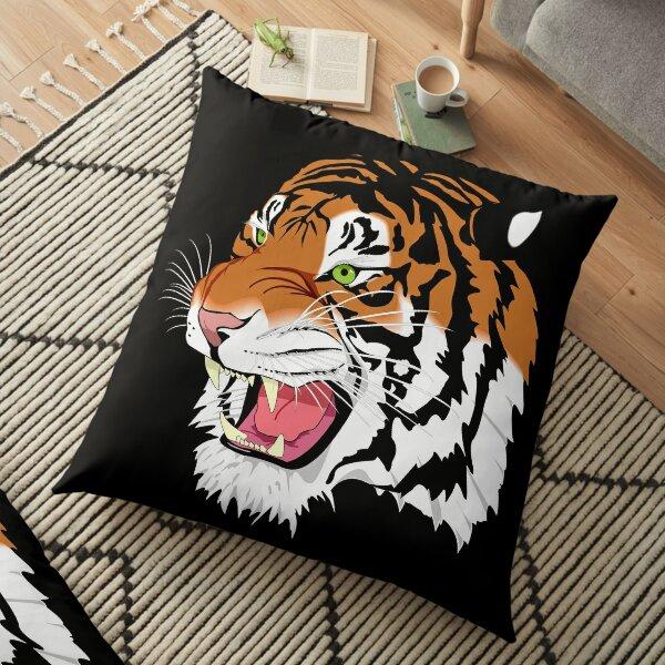 fantastic tiger Floor Pillow