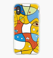 Mixed Up - The Simpsons iPhone Case
