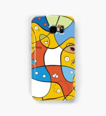 Mixed Up - The Simpsons Samsung Galaxy Case/Skin