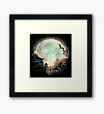 Spirited Night Framed Print