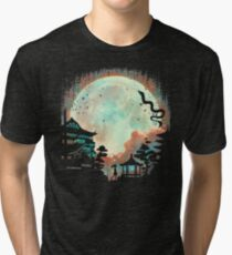 Camiseta de tejido mixto Noche animada