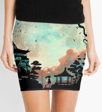 Spirited Night Mini Skirt