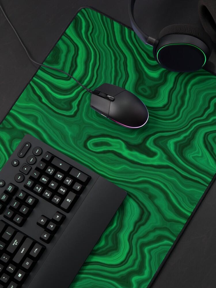 Alternate view of Darker Malachite Mouse Pad