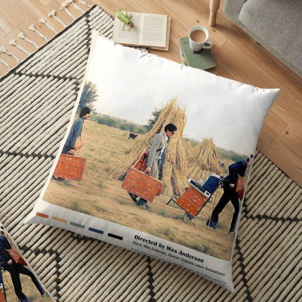 The Darjeeling Limited Floor Pillow