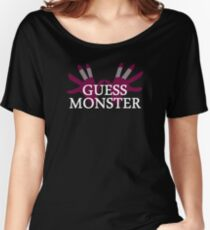 GUESS MONSTER Women's Relaxed Fit T-Shirt