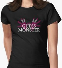 GUESS MONSTER Womens Fitted T-Shirt