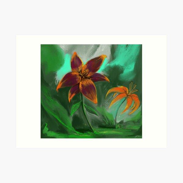 Love for Lilies  Art Print