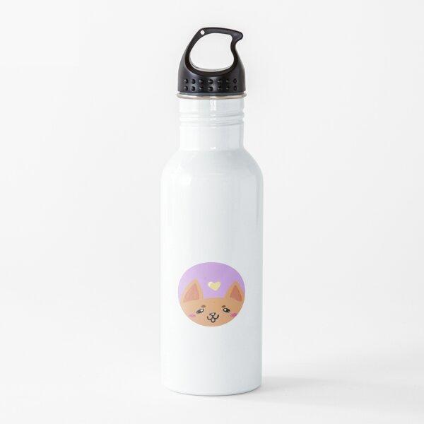 Cute Orange Fox Water Bottle