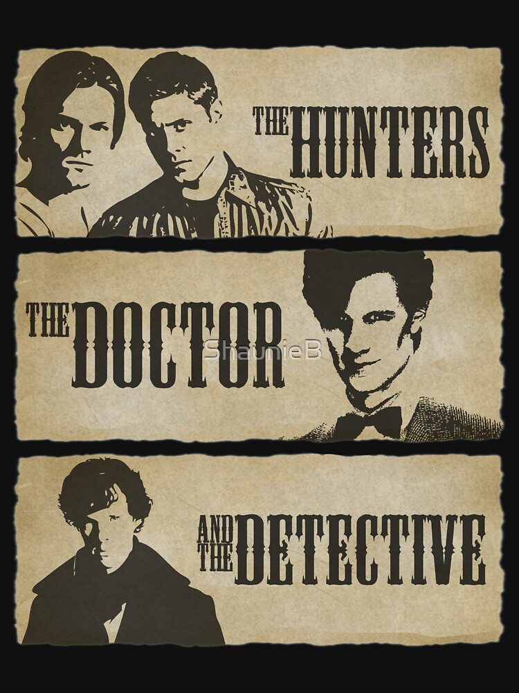 The Hunters, The Doctor and The Detective (Matt Smith version)  by ShaunieB