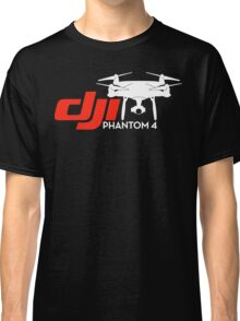 DJI Phantom 4 New Drone White Classic T-Shirt