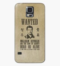 Wanted Captain  Case/Skin for Samsung Galaxy