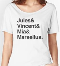 Jules & Vincent & Mia & Marsellus Women's Relaxed Fit T-Shirt
