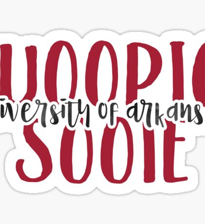University of Arkansas - Style 9 Sticker