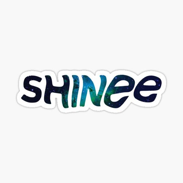 SHINee-Logo Galaxy Sticker