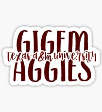 Texas A&M - Style 9 Sticker