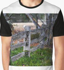 Old fence Lockwood Bendigo VIC AUS  Graphic T-Shirt