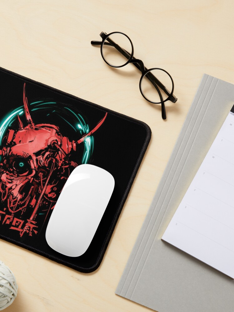 Alternate view of Cyberskull Mouse Pad