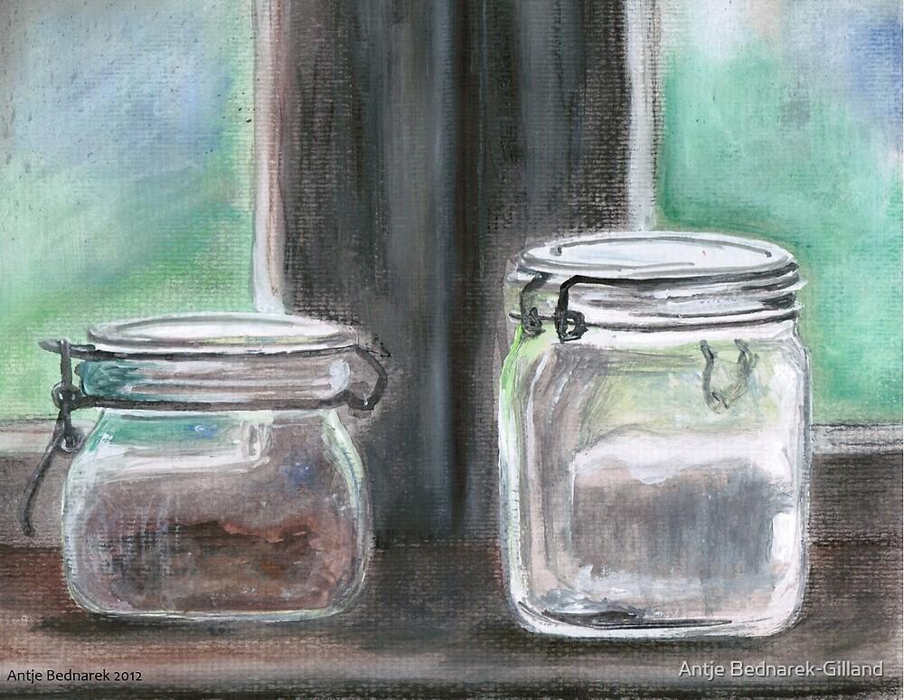 Jars by Antje Bednarek-Gilland