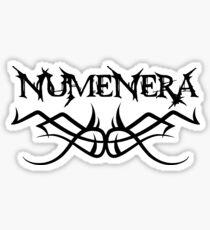 Numenera schwarz Sticker