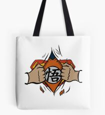 Super saiyan man tshirt Tote Bag