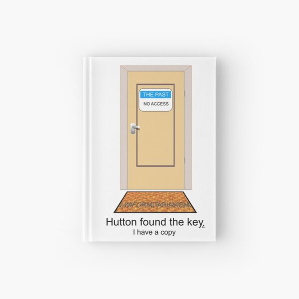 Hutton found the key. I have a copy. Hardcover Journal