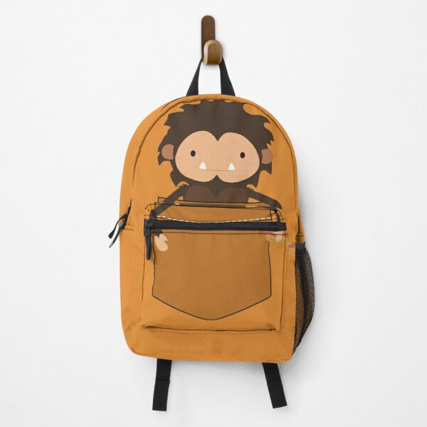 Sneaky Sasquatch cute pet gamer funny Backpack