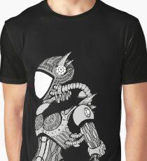 Cyborg girl - On black Graphic T-Shirt