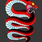 Red Snake by Courtney Pretlove
