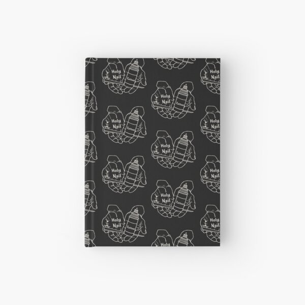 Holy Nail Tattoo Hardcover Journal