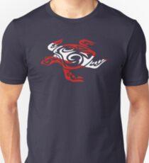 SCUBA DIVE Tribal Sea Turtle  Slim Fit T-Shirt