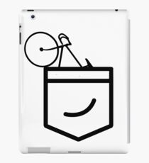 Fixie in the Pocket iPad Case/Skin