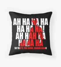 Dr Horrible Laugh  Throw Pillow