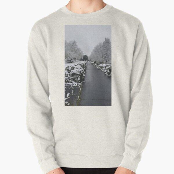 Snowy Pathway Pullover Sweatshirt