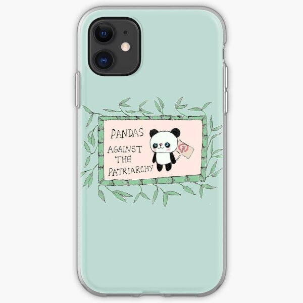Pandas against the Patriarchy iPhone Soft Case