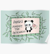 Pandas against the Patriarchy Poster