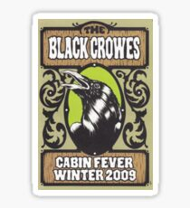 THE BLACK CROWES TOURS 6 Sticker