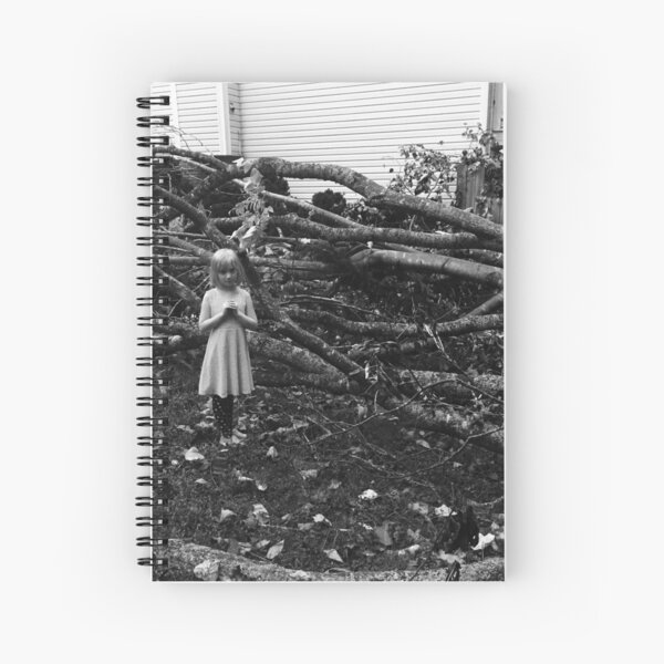 Spooky kid Spiral Notebook