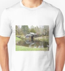 Mabry Mill in the fall Unisex T-Shirt
