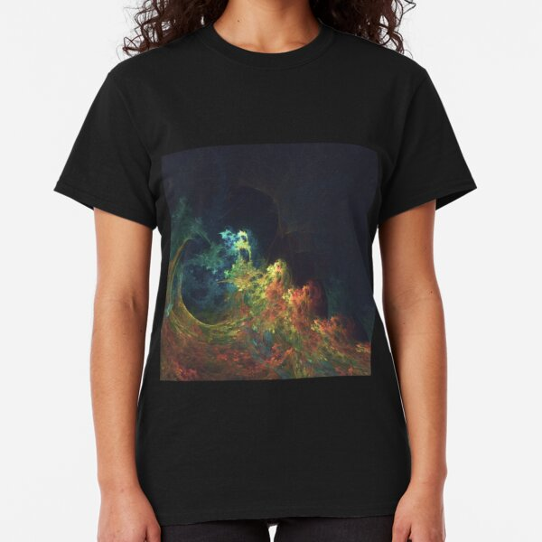 The Storm #fractal art Classic T-Shirt