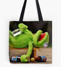 drunk Kermit  Tote Bag