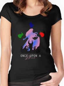 Once upon a dream Women's Fitted Scoop T-Shirt